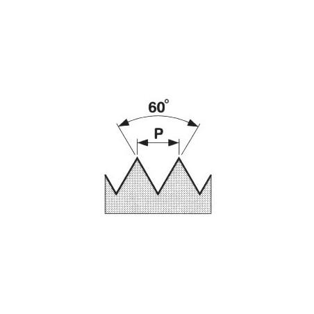 Závitová kruhová čelist, HSS, 6g 223210