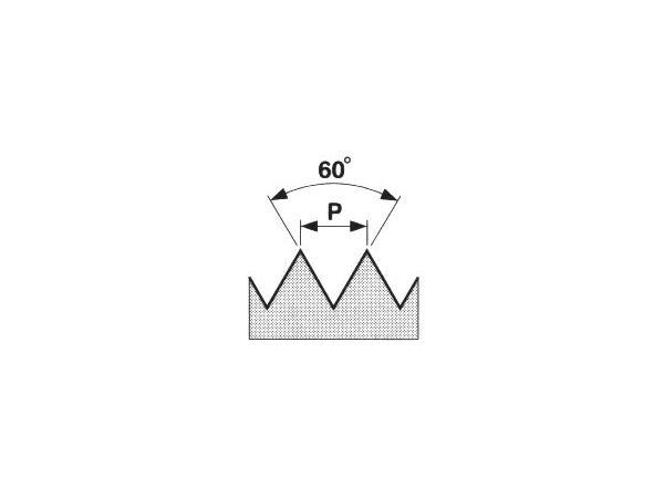 Strojní závitová kruhová čelist HSS, 6g 223216