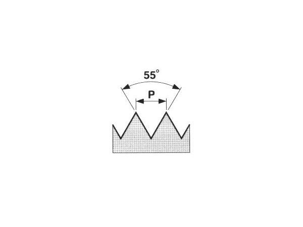 Závitová kruhová čelist HSS, trubkový závit 223212
