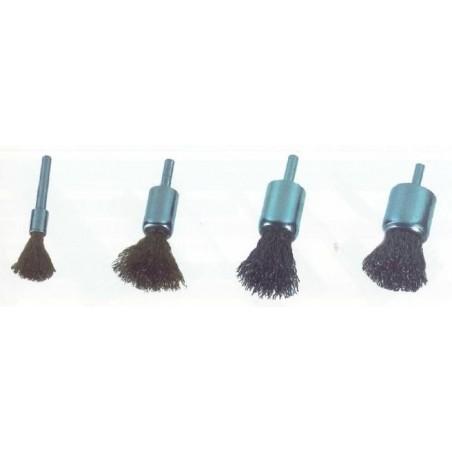 Kartáč štětkový (dekarbonizační), ocel vlnitá KARTAC