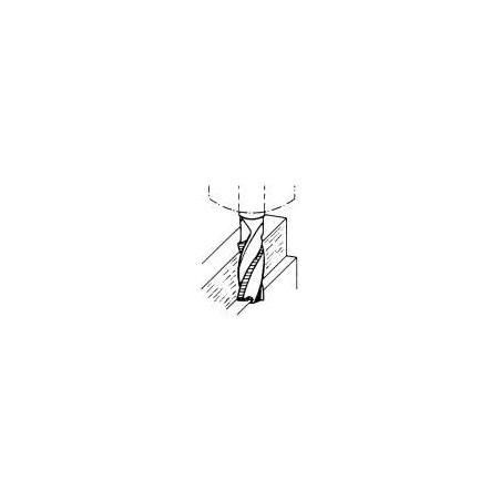 Fréza válcová čelní dlouhá, 1 břit přes střed (TYP NR) F125518