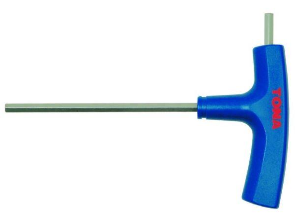 Zástrčný klíč šestihranný s T rukojetí 230721
