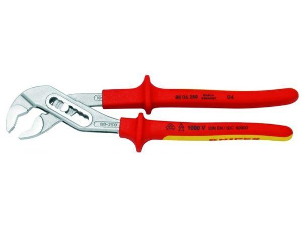 """Kleště nastavitelné, přestavitelné """"ALIGATOR"""", 1000 V KNIPEX 250mm, 8806250"""