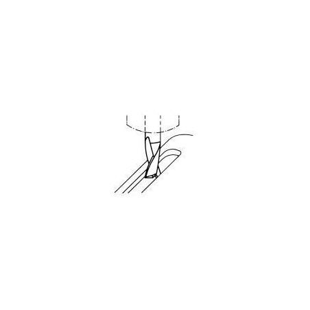 Fréza pro drážky per krátká, nesouměrná F260545