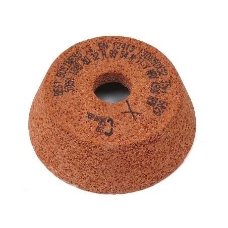 Brousící kotouč miskovitý zvlášť pórovitý BRUSIVO 429950 /57651 1225.8915/ - T11 - 125/92x45x20 - 7,5x12x80 mm