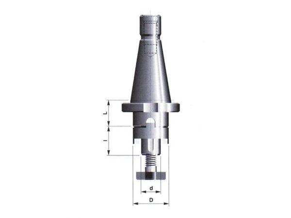 Frézovací trn pro frézy s podélnou nebo příčnou unášecí drážkou 247227.1