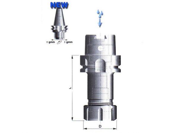 Kleštinový upínač pro kleštiny DIN 6499(ER) 504009