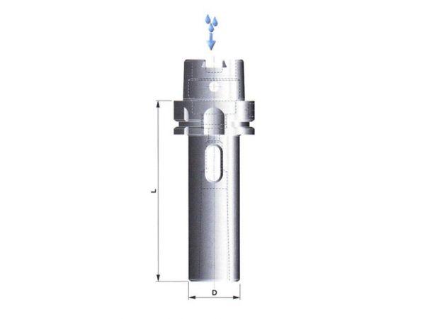 Redukční pouzdro s dutinou morse 506011