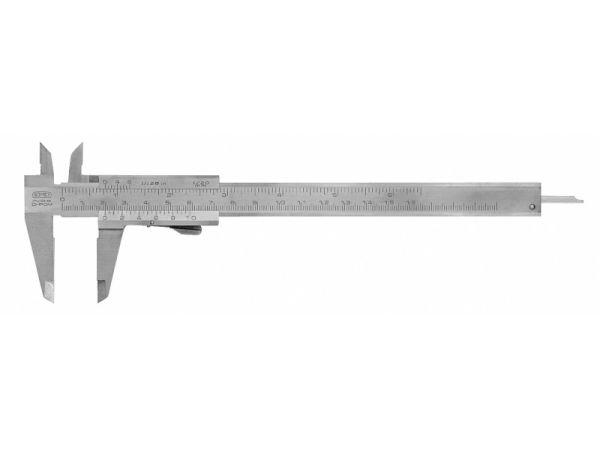 Posuvné měřítko s hloubkoměrem s tlačítkem 251238