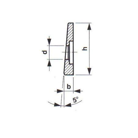 Hladká vložka čelistí strojních svěráků - YORK