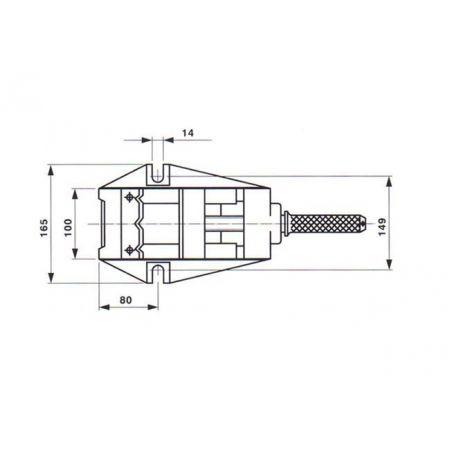 Příruční strojní svěrák - YORK