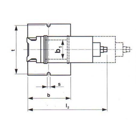 Otočný a sklopný strojní svěrák - YORK