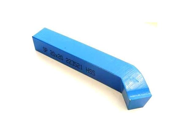 Soustružnický nůž - z rychlořezné oceli ubírací ohnutý 223521