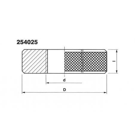 Závitový kroužek - zmetkový pro závit trubkový 254065