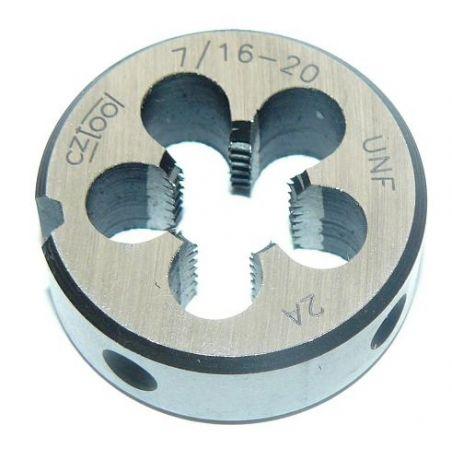 Závitová kruhová čelist HSS, unifikovaný jemný závit - CZ TOOL