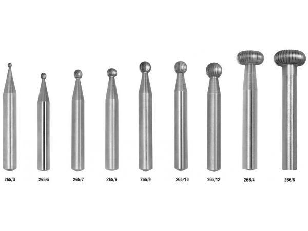 Technická fréza HSS pro výrobu nástrojů a přípravků 229310 typ 265,266 MEDIN
